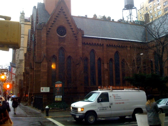 Pretty Church at 21st and Park Avenue South