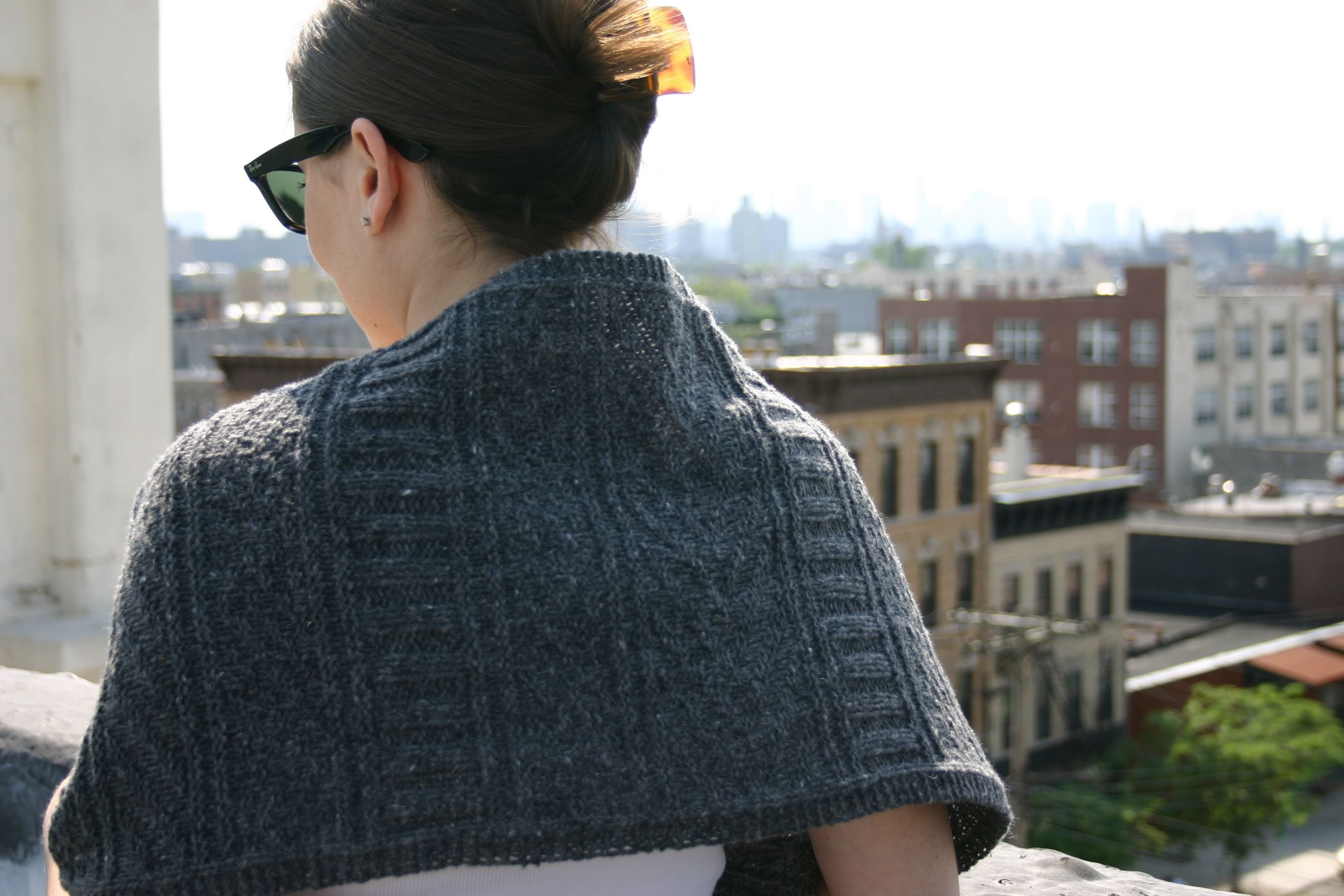 FO: Guernsey Wrap | Love Is All You Knit