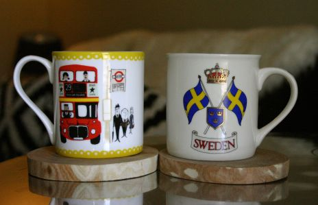 mugs London & Sweden
